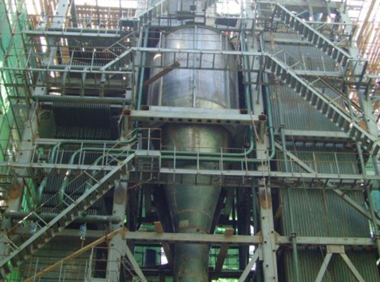 circulating fluidized bed boiler exported to Vietnam