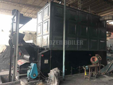 20 tph SZL coal fired steam boiler for rubber industry in China